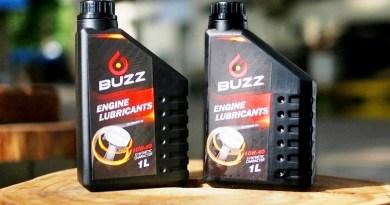 BUZZ OIL Produk Lokal Kualitas Dunia Cocok untuk Segala Tipe Motor dan Cuaca
