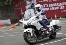Punya Bobot Besar, Honda Gold Wing Pamer Kemampuan di Trek Safety Riding