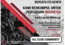Bikers IndonesiaAkan Berkumpul dan Bersatu Dalam Ajang Bikers ForIndonesia