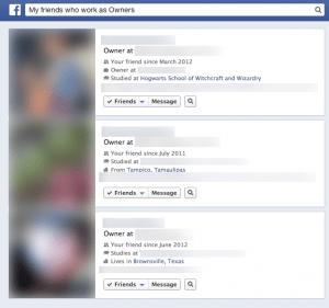 usa graph search de facebook para encontrar mas clientes