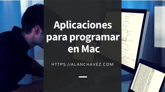 Aplicaciones para programar en Mac