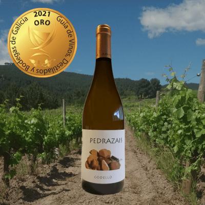 Pedrazáis Godello Guía de Vinos Destilados y Bodegas de Galicia 2021 Oro