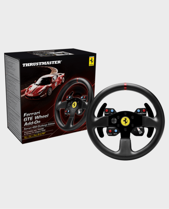 Thrustmaster T300 Ferrari GTE Racing Wheel for PS4 PS3 PC