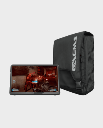"""GAEMS M155 15.5"""" HD LED Performance Gaming Monitor with Backpack for PS4, Xbox one"""