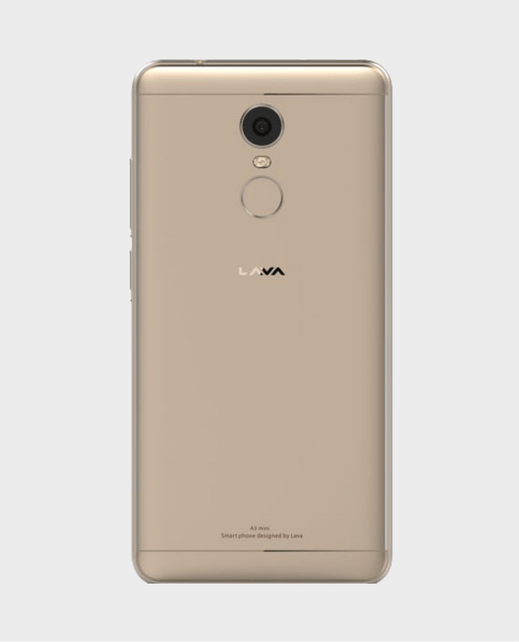 Lava A3 Mini back