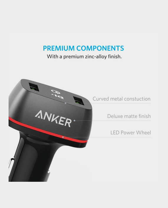 Anker Car Charger in Qatar