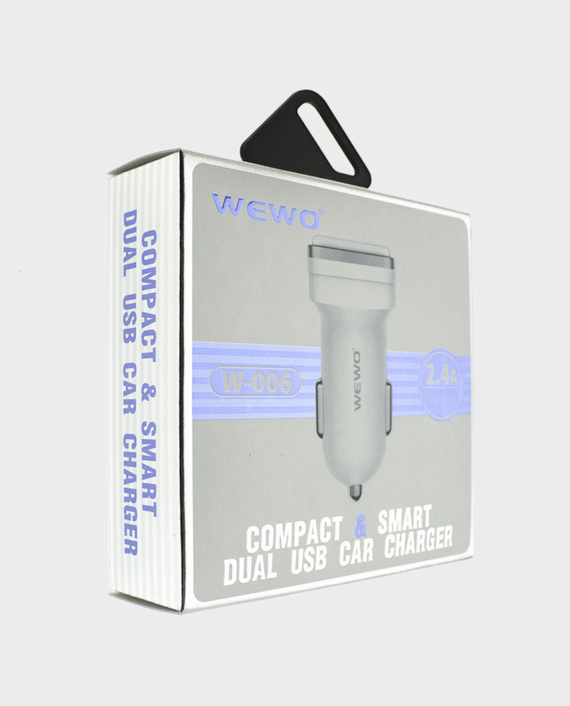 wewo w 006 car charger online in qatar