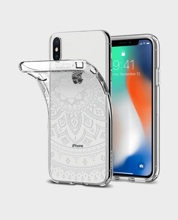 Spigen iPhone X Case Liquid Crystal Shine in Qatar Lulu - Souq - Amazon