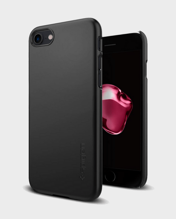 Spigen iPhone 7 Case Thin Fit Black in Qatar and Doha
