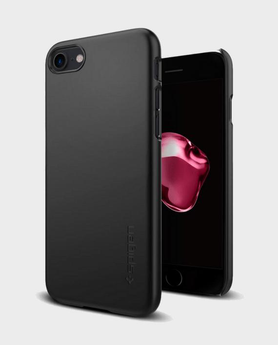 Spigen iPhone 7 Case Thin Fit Black in Qatar and Doha