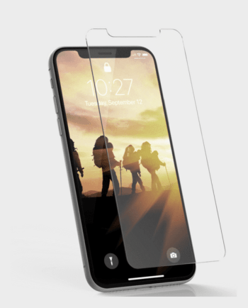 UAG Rugged Tempered Glass for iPhone X in Qatar