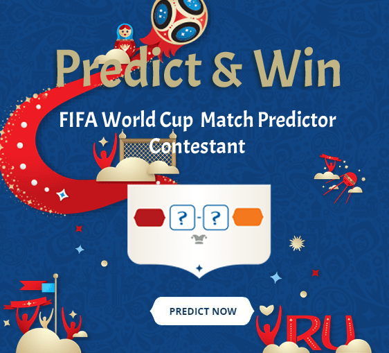 Fifa World Cup Predict And Win Contestant