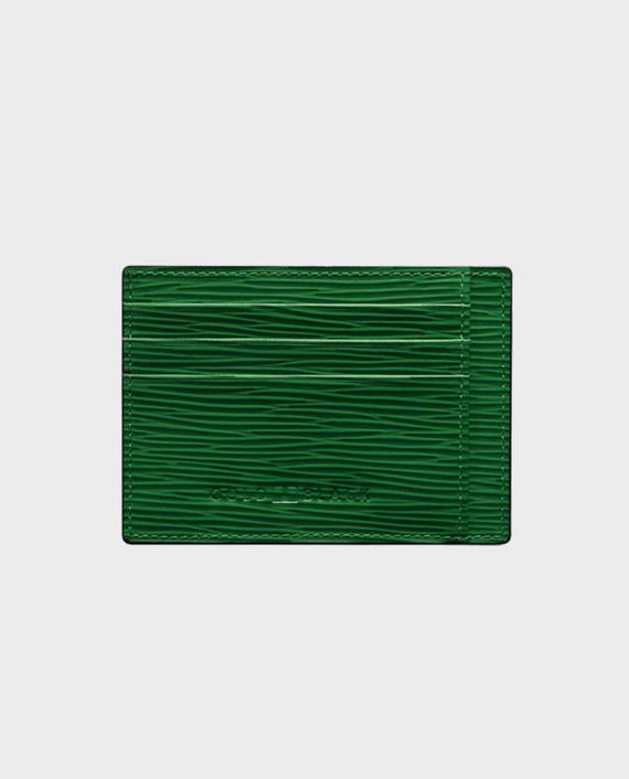 Gold Black Card Holder Bill Unico Green
