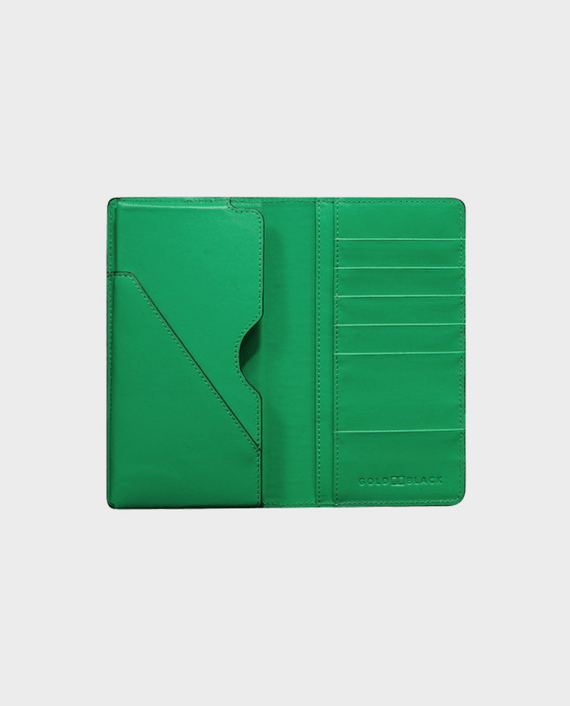 Gold Black Smart Wallet Billion Unico Green