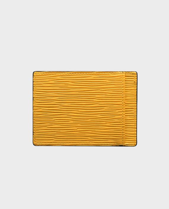 Gold Black Card Holder Bill Unico Yellow in Qatar