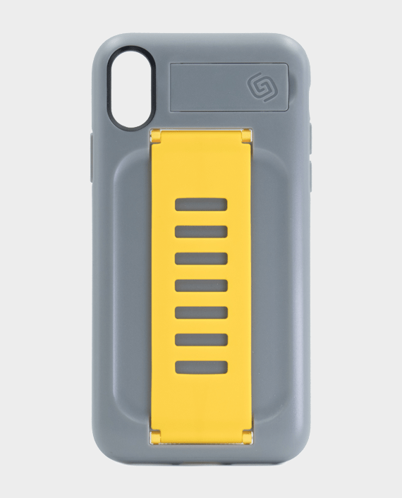 Grip2U iPhone XS Kickstand Boost Graphite Yellow in Qatar