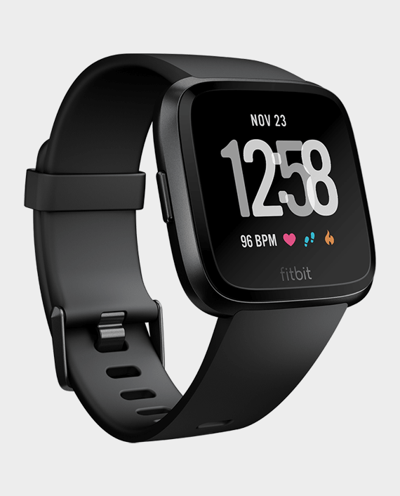 Fitbit Versa Fitness Watch Black Price in Qatar
