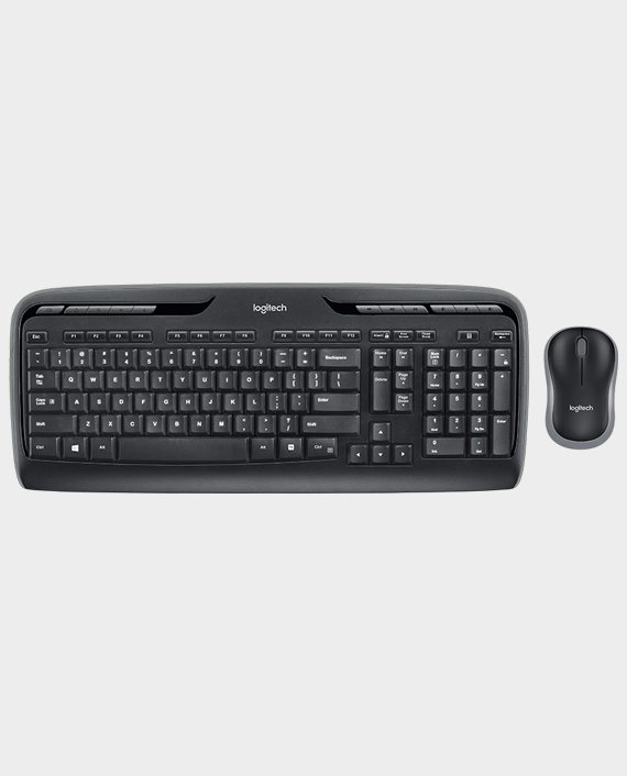 Logitech Wireless Keyboard and Mouse Combo MK330 in Qatar