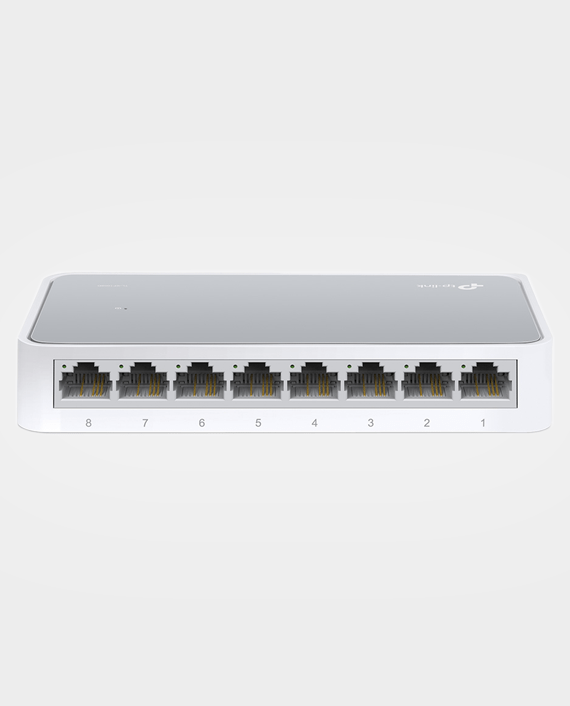 TP-Link TL-SF1008D V11 8-Port 10-100Mbps Desktop Switch in Qatar