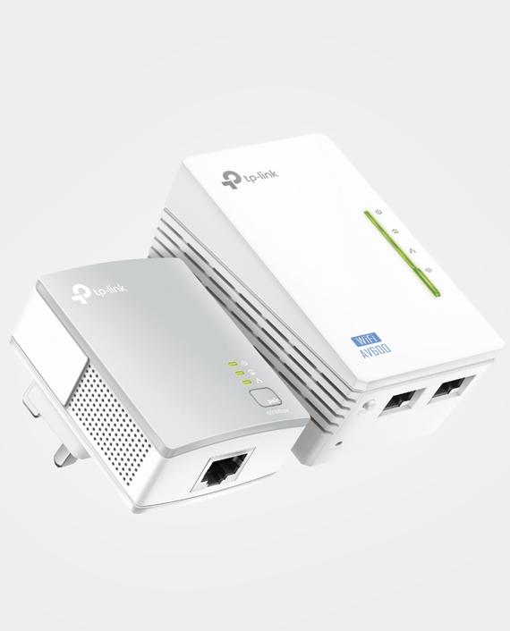 TP-Link TL-WPA4220KIT 300Mbps AV500 Wi-Fi Powerline Extender Starter Kit in Qatar