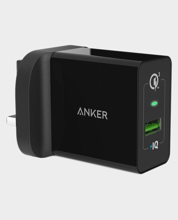 Anker PowerPort+ 1 Quick Charge 3.0 Charger With Micro USB Cable in Qatar