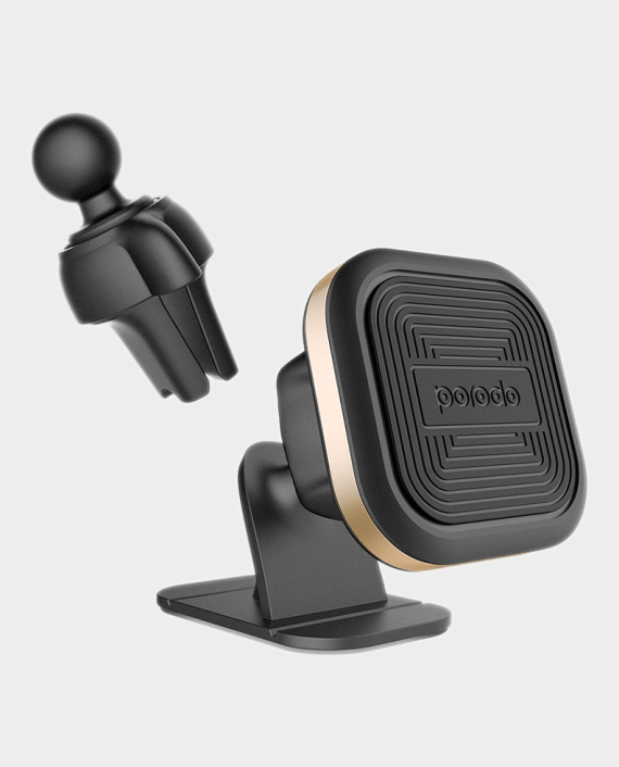 Porodo Aluminum Magnetic Car Mount in Qatar