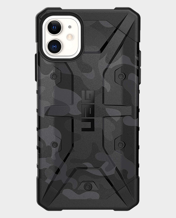 iPhone 11 UAG Pathfinder SE Feather-Light Rugged Midnight Camo Case in Qatar