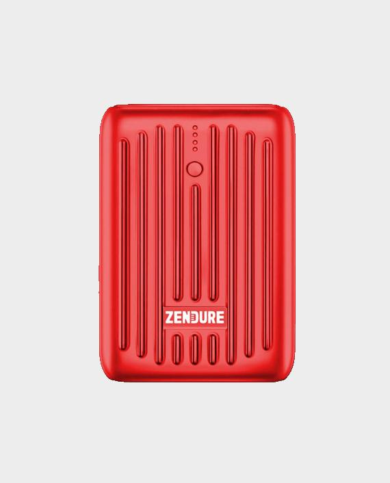 Zendure Super Mini 10000 mAh PowerBank With USB C PD Red in Qatar