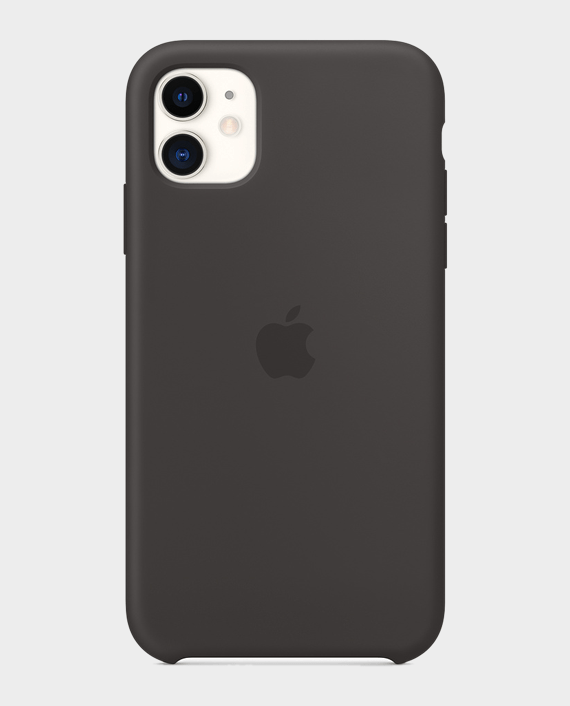 Apple iPhone 11 Silicone Case Black in Qatar