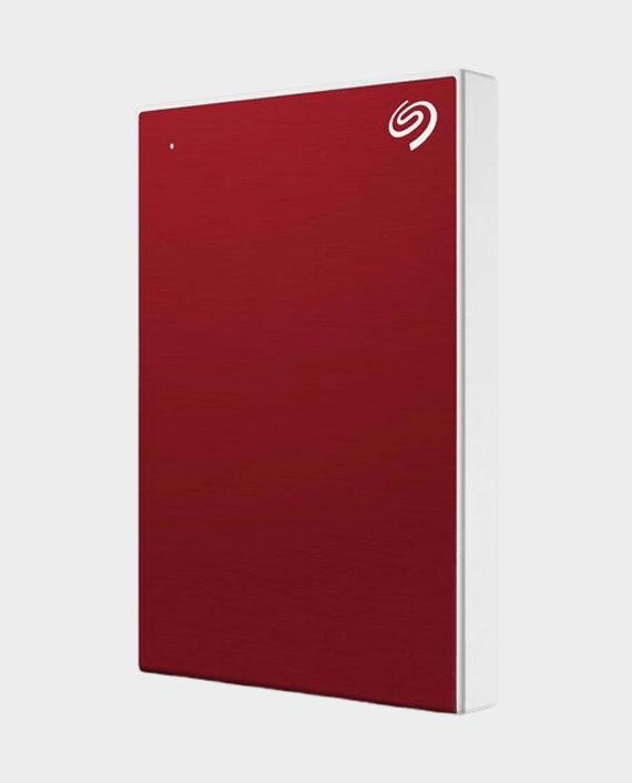Seagate 1TB Backup Plus Slim External Hard Drive Red in Qatar