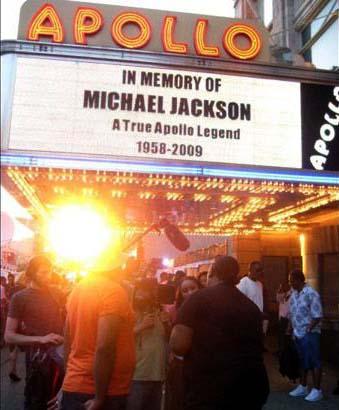 Apollo Theater, Harlem, New York, June 25, 2009