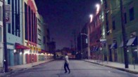 Empty City Street
