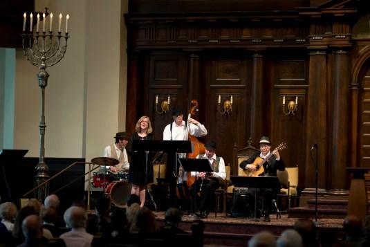 Magic Shtetl Klezmer Band at Temple Emanu-El