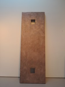 "Alan Greenberg's ""Lean"" sculpture"