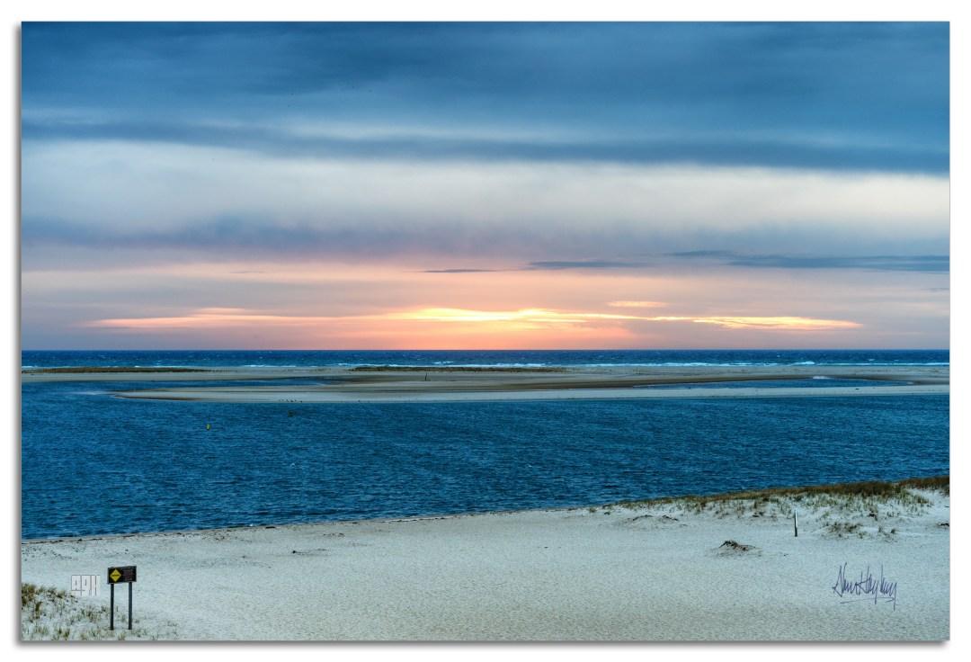 Chatham Lighthouse Beach at Sunrise Photography