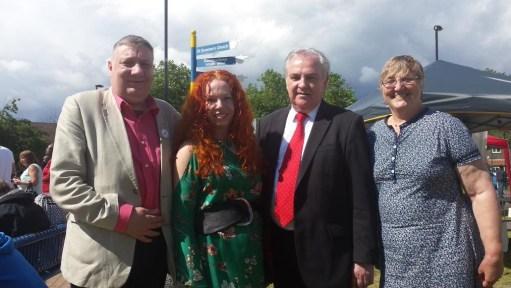 Jim Dowd MP and Bellingham cllrs
