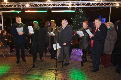 Churches Together in Bellingham 'Carols on the Green' 2017