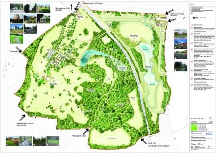 Beckenham, Place Park LandscapeMasterplanLarge