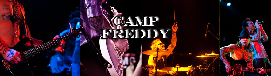 Camp Freddy rocks the Roxy