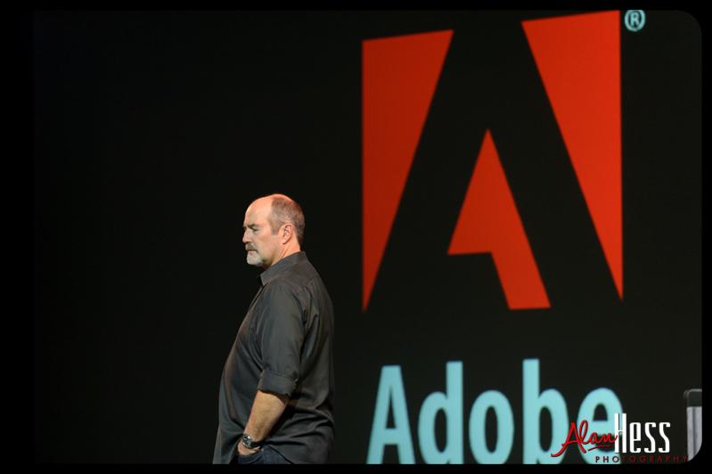 Adobe steps up.