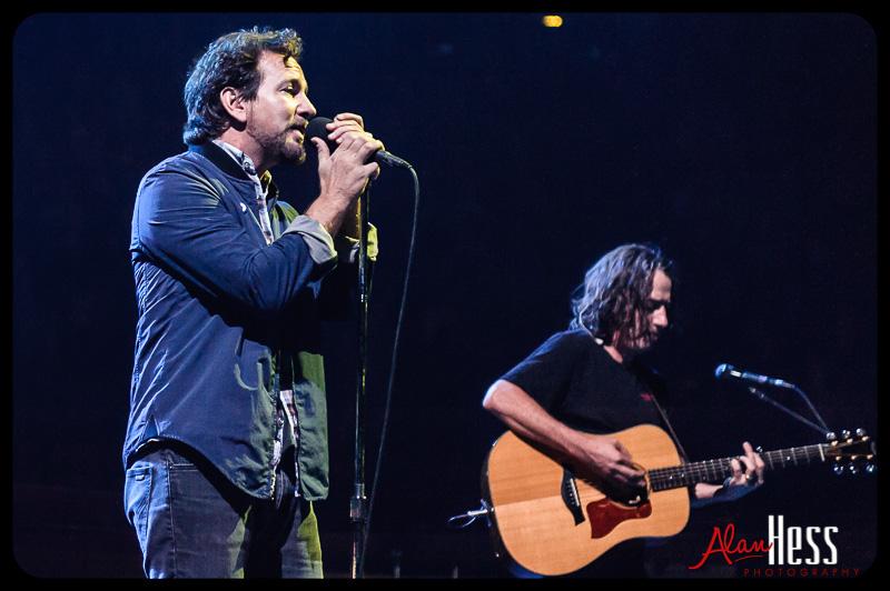 Pearl Jam – Concert shoot