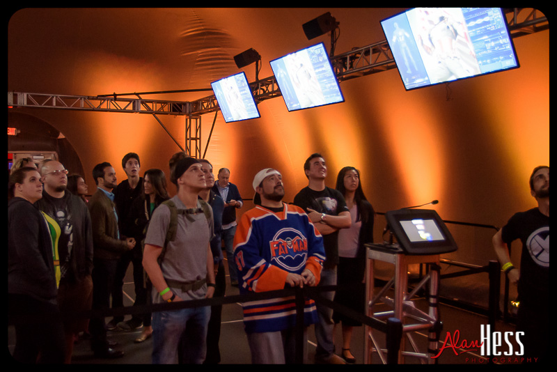 Kevin Smith and Jason Mewes at the Marvel Experience Tour