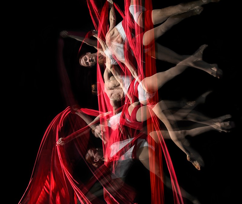 Capturing Motion – Aerial Silk