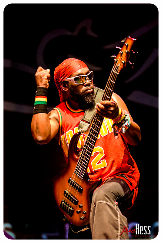 Steel Pulse perform during the Friday Night Concert Series at the Del Mar Racetrack on August 14, 2015 in Del Mar CA