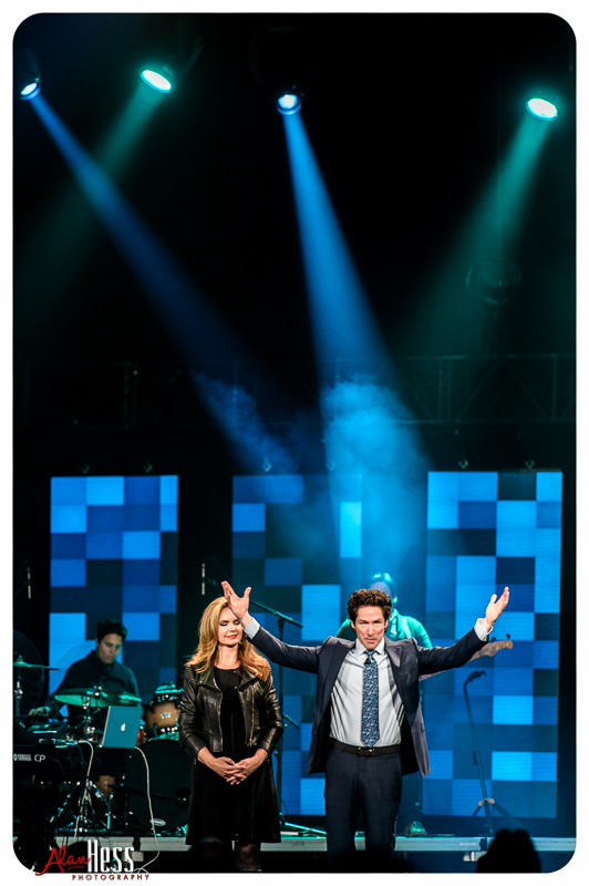 """""""A Night of Hope"""" with Joel and Victoria Osteen at the Valley View Casino Center on January 15, 2016 in San Diego, CA"""