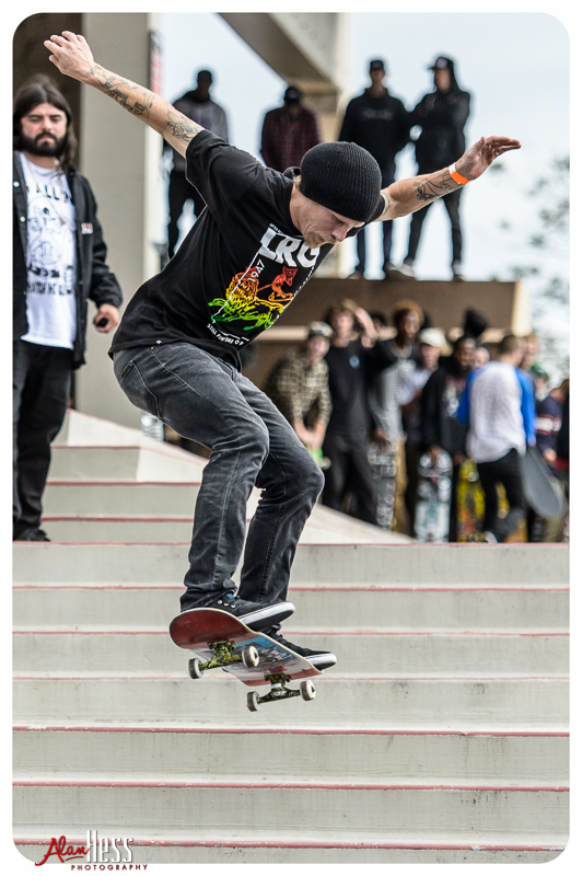 Cinco De Slammo - Thrasher Magazine event Bust or Bail on the West Entrance steps of the Valley View Casino Center on May 5, 2016