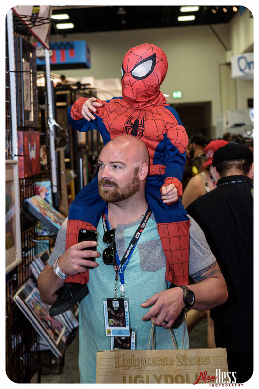 San Diego Comic Con International in San Diego, California on July 21-24, 2016 (Photo by Alan Hess)