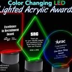 led lighted acrylic awards
