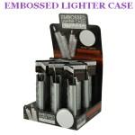 embossed lighter case
