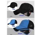 retractable fishing cap